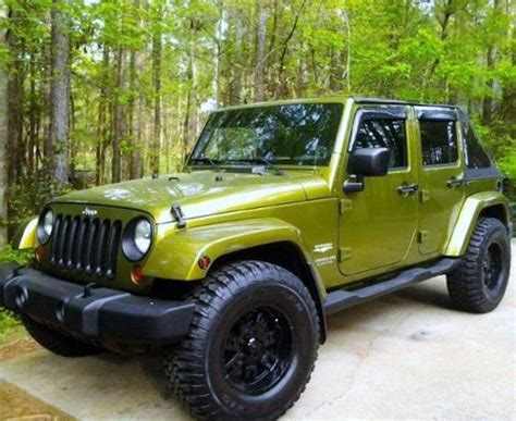 4 Door Jeep Wrangler For Sale In Ga Buy Used 2007 Jeep Wrangler Unlimited Sport Utility