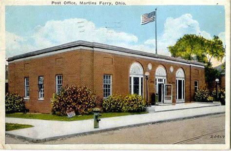 Barnesville Post Office by Postcards From Belmont County Ohio