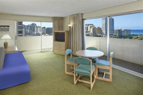hotels with kitchens in waikiki view one bedroom suite living room picture of ambassador hotel waikiki honolulu