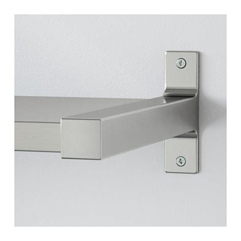 ekby mossby ekby bj 196 rnum wall shelf stainless steel 239x28