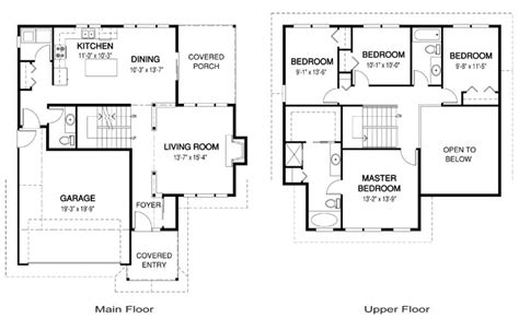Suburban House Floor Plan | suburban house plans ideas house plans 82429