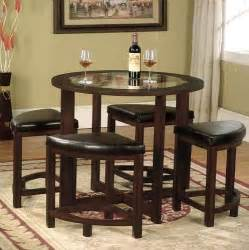 buy roundhill furniture cylina solid wood glass top round