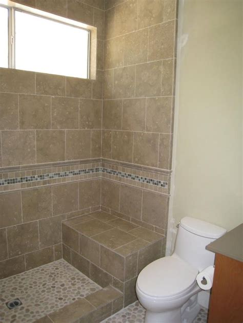 Doorless Shower Small Bathroom Image Doorless Walk In Shower Designs For Small Bathrooms