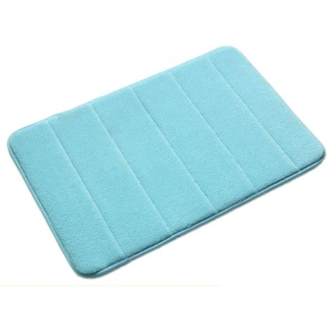 Microfiber Bath Rug Rug Bathroom Carpet Soft Microfiber Suede Memory Foam Bath Mat 4 Colors
