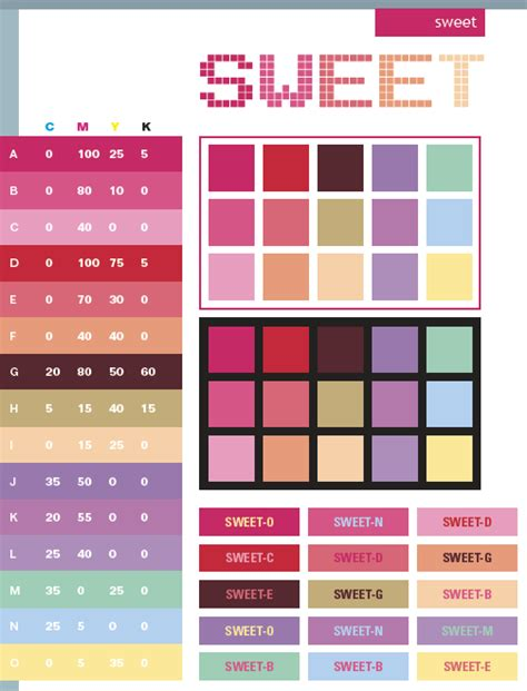 creative color schemes sweet color schemes color combinations color palettes