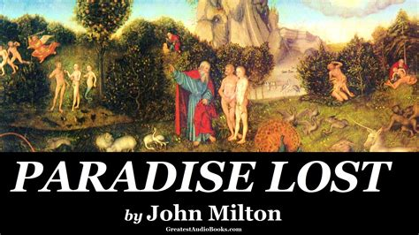 paradise lost books paradise lost by milton audiobook greatest