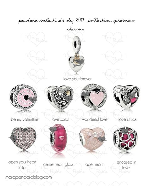valentines day pandora charms pandora s day 2017 collection preview mora pandora