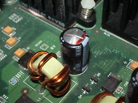 what causes bulging capacitors electro caps rant html
