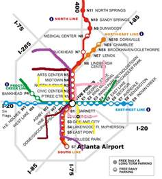 Atlanta Train Map by Marta Station Atlanta Georgia Map Possible Future Marta