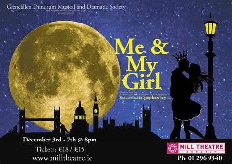 my musical past shows glencullen dundrum musical dramatic society