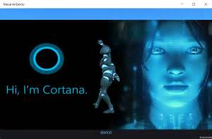 Integrating cortana with unity in windows universal games unite 2015