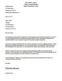 Cover Letter by Cover Letter Template 6