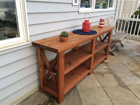 outdoor console table diy 25 best ideas about outdoor console table on