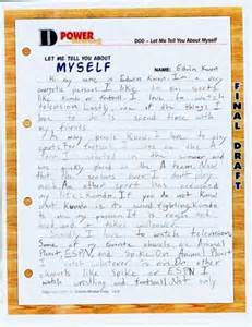 How To Write About Myself Essay by Essay Introduce Myself Ecoco Inc