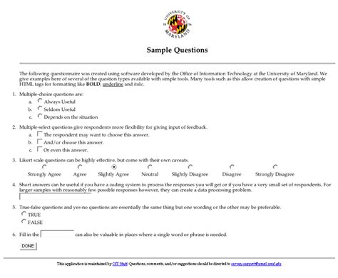 questionnaire survey sample relevant likewise designing effective