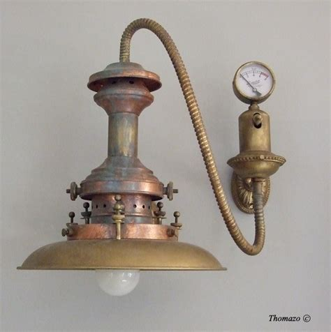 Steampunk Sconce Antique Steampunk Wall Sconce Id Lights