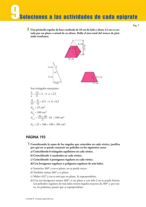 pirámide de base cuadrada tema 9