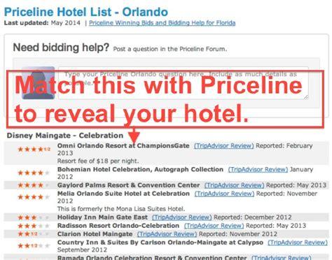 priceline express deals revealed