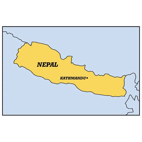nepal map vector vector map of nepal at vectorportal