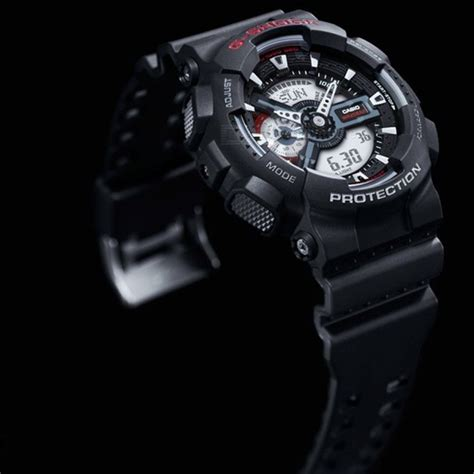 Casio G Shock Ga 110 1a Black casio g shock ga 110 1a digital combination black
