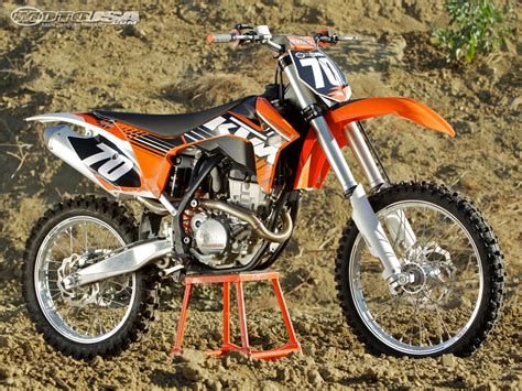 2010 Ktm 250sxf 2012 Ktm 250 Sx F Comparison Photos Motorcycle Usa