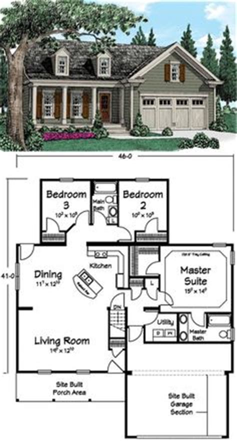 17 best ideas about simple house plans on pinterest country style house plans 1400 square foot home 1 story