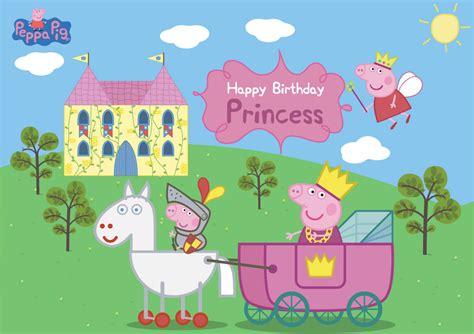 Peppa Pig Princess Peppas Tea related image peppa cake