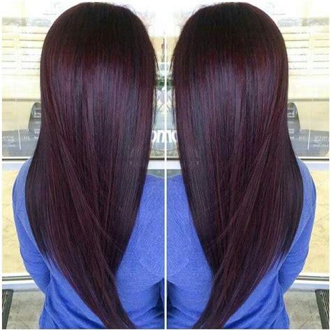 chocolate cherry brown hair photos chocolate cherry hair tips hair care pinterest