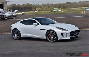 2016 Jaguar F Type Coupe 2016 Jaguar F Type R Awd Review Performancedrive