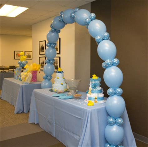 Balloon Decorations Baby Shower   Party Favors Ideas
