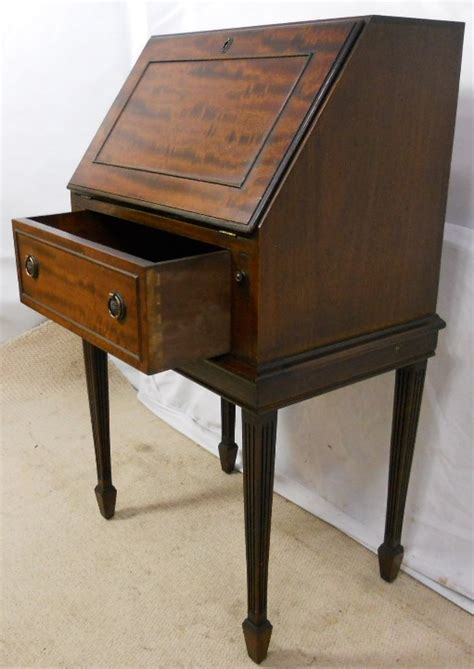 Small Bureau Desk Uk Small Mahogany Writing Bureau Desk