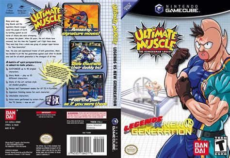 ultimate muscle legends   generation iso