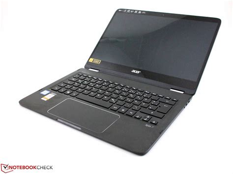 Laptop Acer Spin 7 acer spin 7 sp714 51 m09d convertible review notebookcheck net reviews