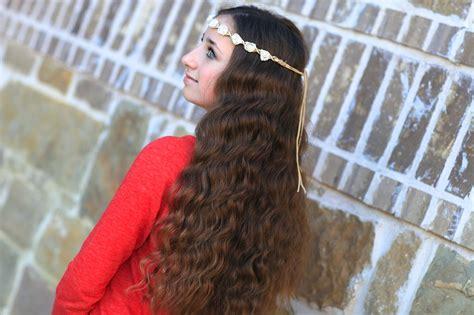 cute girl hairstyles no heat curls bandana curls no heat curl hairstyles cute girls