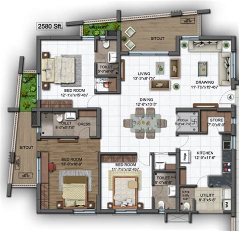 eastpoint green floor plan ssgreenprojects modern premium apartments in hyderabad