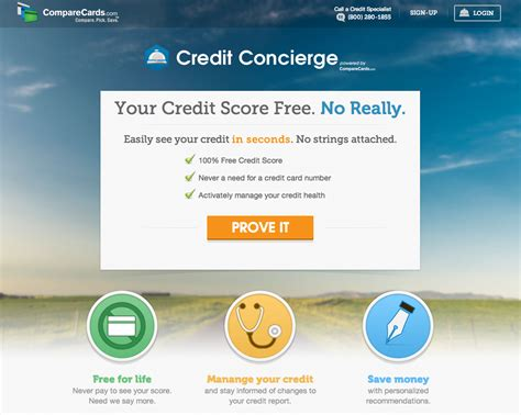 One Financial Credit Score Comparecards Launches Free Credit Concierge Service To