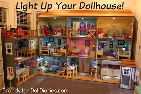 dolls that light up light up your dollhouse doll diaries angie s birthday