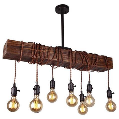 wood beam chandelier 8 light wood beam chandelier chandelier whosel