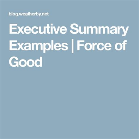 executive summary template worthy picture startup 1 638 cb a good