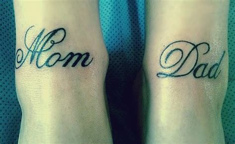 100 s of mom and dad tattoo design ideas pictures gallery