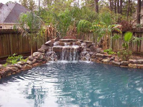 natural stone swimming pool waterfalls top ten grotto swimming pools with grottos styles pixelmari com