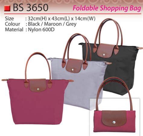 Foldable Shopper Murah foldable bag premium gift supplier