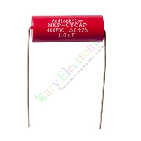 Mkp Solen 1uf 400v Made In mkp 400v 1uf copper leads axial electrolytic capacitor audio
