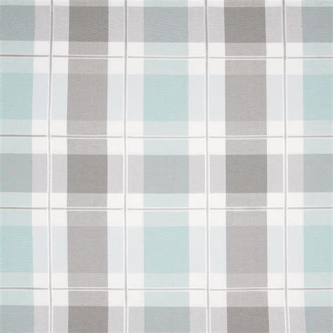 blue plaid upholstery fabric breeze teal and blue plaid woven upholstery fabric