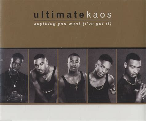 Kaos Korea Disc 50 Promo ultimate kaos anything you want i ve got it uk promo cd