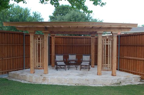 pergola  stone patio
