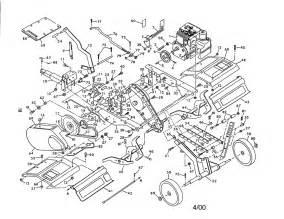 craftsman tiller parts model 486252441 sears partsdirect