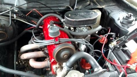 ford 2 0 engine ford 2 0 pinto engine start up