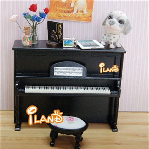 dolls house musical instruments dolls house miniature music instrument mini piano with stool model black he005g buy