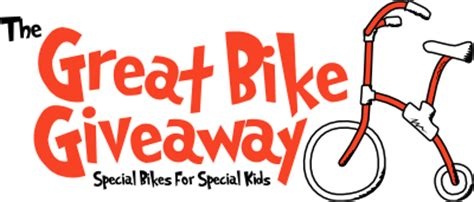 Great Bike Giveaway - announcing the great bike giveaway 18 special bikes for 18 special kids friendship